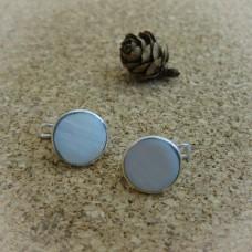 Сребърни обеци с естествени камъни - E-502