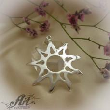 "Сребърен медальон  ""Слънце"" P-513"